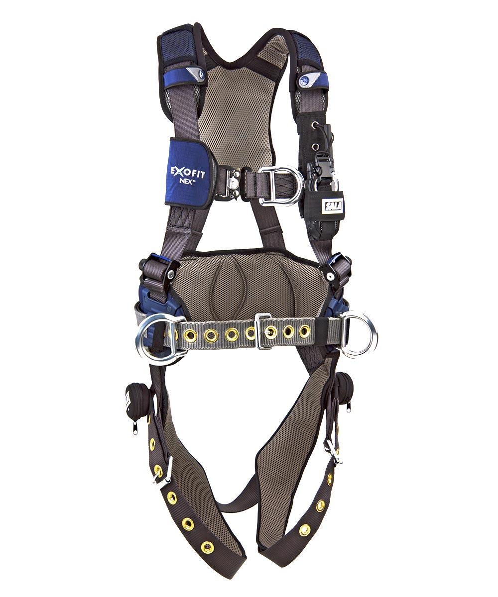 Dbi sala exofit nex global wind energy harness for Sala safety harness