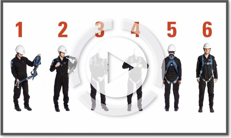 How to Don a Full Body Harness